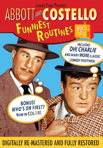 Abbott Costello Funniest Routines Volume 2
