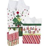 Bright Christmas Gift Bag Assortment – 12 Pc